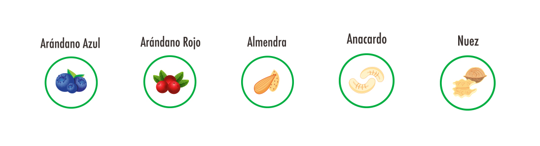 ingredientes 7 daily nuts
